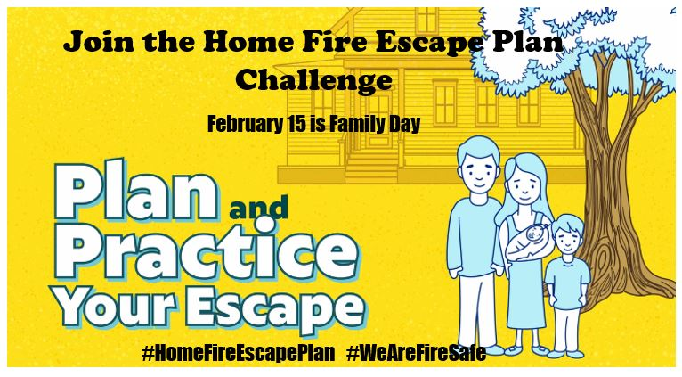 Fire Escape Plan Challenge